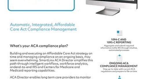SmartLinx ACA Director (Hospitals)