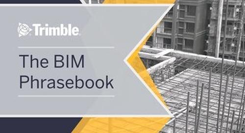 The BIM Phrasebook