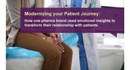 Modernizing your Patient Journey with Emotional Insights