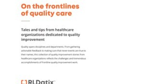 On the Frontlines of Quality Care