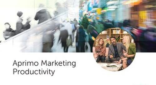 Marketing Productivity Brochure