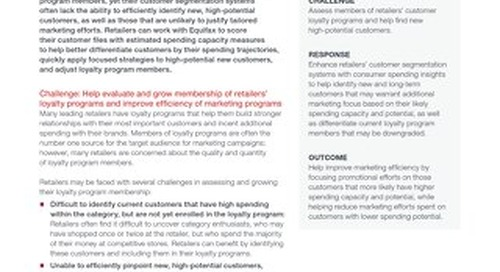 Consumer Insights for Retail Loyalty Case Study