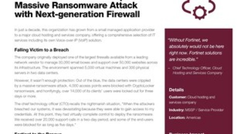 IT Solutions Provider Stops Ransomware