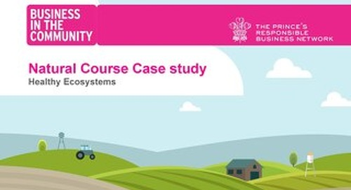 Healthy Ecosystems - Natural Course case study