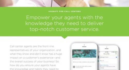Axonify for Call Center