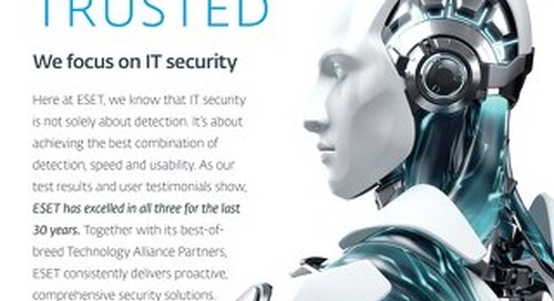 ESET: Proven / Trusted