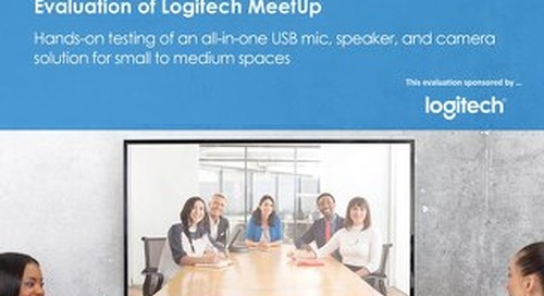 Evaluation of Logitech Meetup
