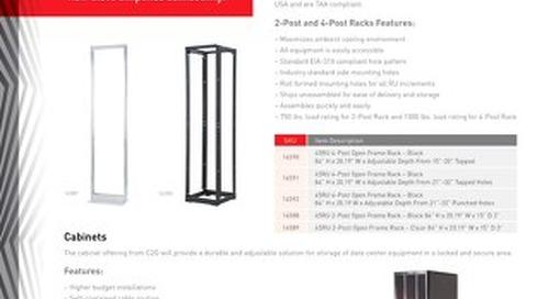 Racks & Cabinets Portfolio