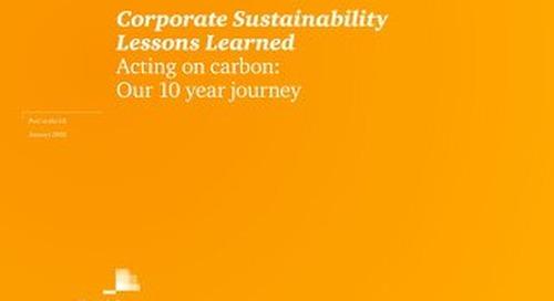 PwC UK: Acting on carbon