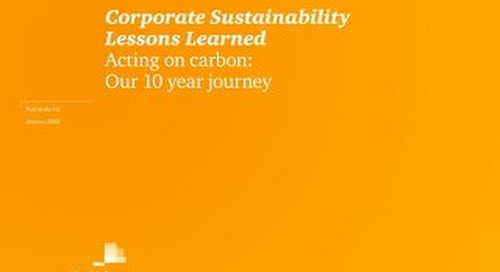 PwC UK: Acting on carbon