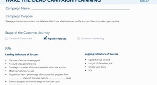 [Worksheet] Wake the Dead ABM Campaign