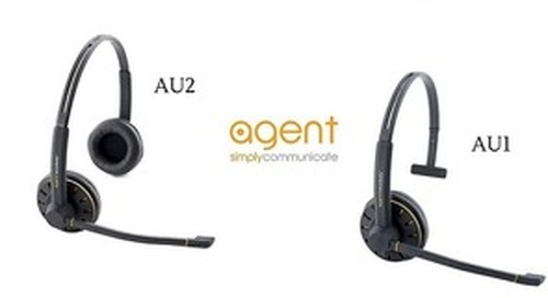 The Agent AU1 & AU2 Headset [Product Highlight]