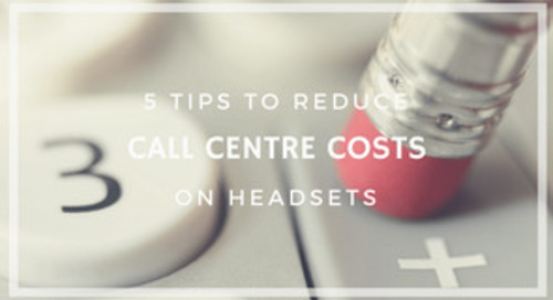5 Tips to Reduce Call Centre Overheads [Infographic]