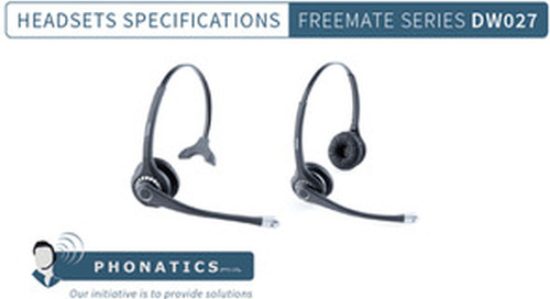 Freemate DW027 Headset [Brochure]