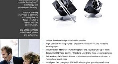 Sennheiser DW Office DECT Headset [Brochure]