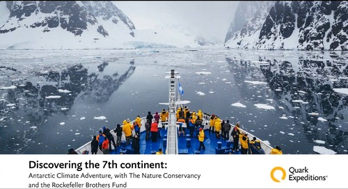 Antarctic Climate Adventure with The Nature Conservancy