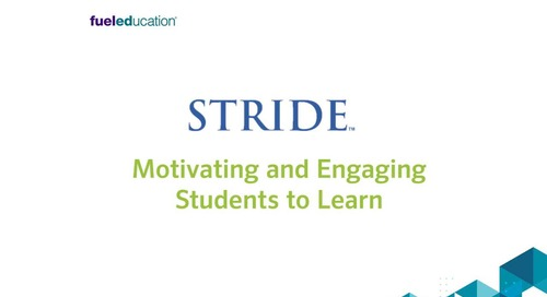 Overview: Stride - Motivating and Engaging Students to Learn