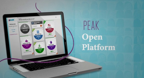 View the PEAK Personalized Learning Platform