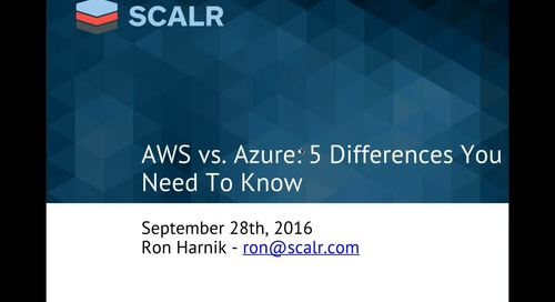 Webinar: AWS vs. Azure