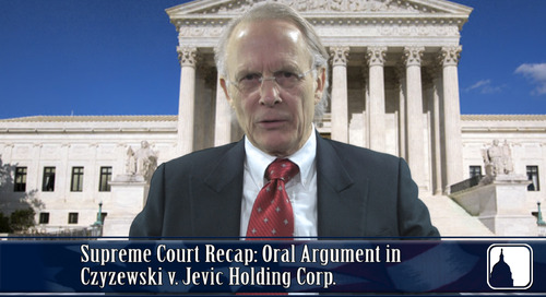 Supreme Court Recap: Oral Argument in Czyzewski v. Jevic Holding Corp.