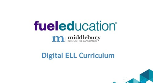 Overview: ELL Digital Curriculum