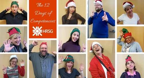 12 Days of Competencies Round-up