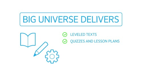 Overview: Literacy Solutions from Big Universe