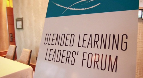 Blended Learning Leader Forum Event Promo Video