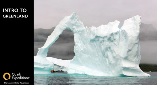 Explore the Wilds of Spectacular Greenland Online with Quark Expeditions