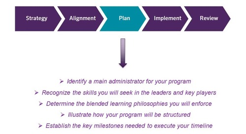5 Steps to Blended Learning Success: Step 3, Plan