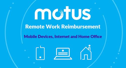 Remote Work Reimbursement from Motus