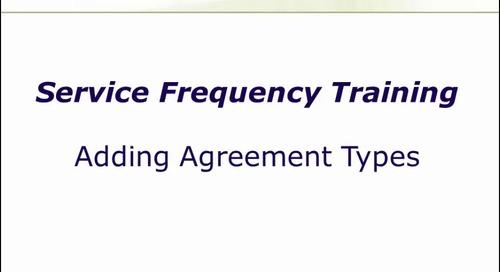 Adding Agreement Types