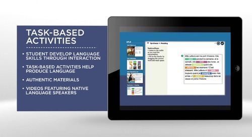 Overview: Middle School World Language Courses from Middlebury Interactive Languages