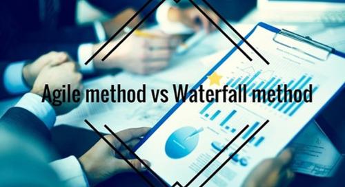 Comparing project management methodologies: Agile method vs Waterfall method