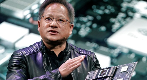 Nvidia shares surge, bucking market sell-off, after earnings show big cryptocurrency, gaming demand