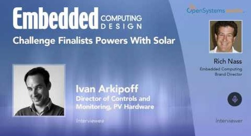Challenge Finalists Powers With Solar