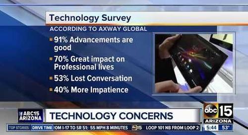Axway Surveys Relationship Between Man & Machine   ABC News Phoenix
