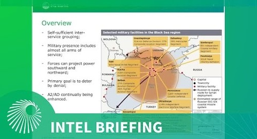 Intel Briefing: Fortress Crimea - Military and politics - three years on