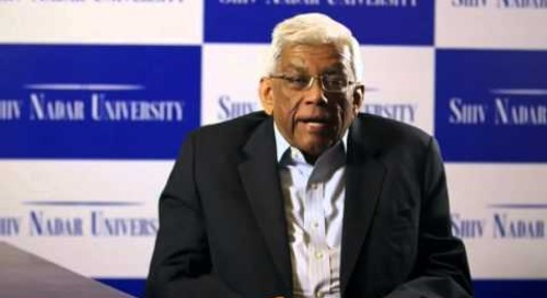 Deepak Parekh, Chairman, HDFC at the convocation ceremony of Shiv Nadar University