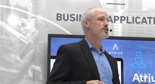 Part 2: Live at LightFair 2017!  Revealing Atrius and the Internet of Us