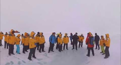 North Pole: 3 Land Excursions at Franz Josef Land and 90 Degrees North (360° VR)