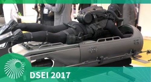 DSEI 2017: Diver Propulsion Device - STIDD Systems