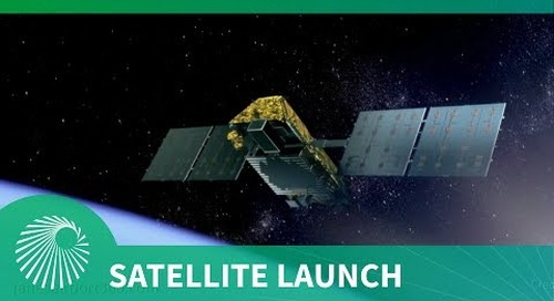 Iridium NEXT launch with Aireon system