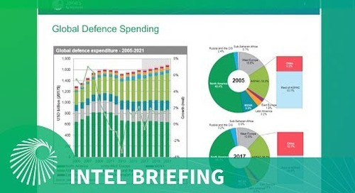 Intel Briefing: Global defence trade - Analysis and opportunities
