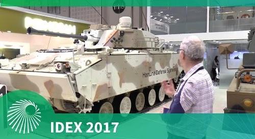 IDEX 2017: K21 Infantry Fighting Vehicle
