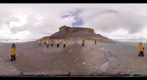 Exploring the 7th Continent (360° VR)