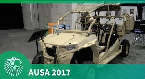 AUSA 2017: MRZR and DAGOR updates - Polaris Defense