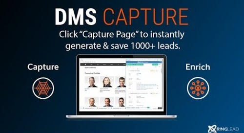 DMS Capture - 1 Minute Demo