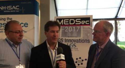 Rich Nass talks with LGS Innovations at MEDSec 2017