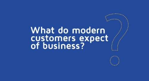 The Digital Business: What Do Your Customers Expect?